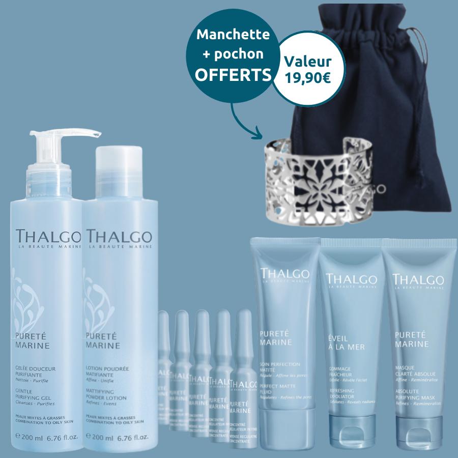 Pack Pureté Marine - 6 produits 100% peaux mixtes à grasses Thalgo
