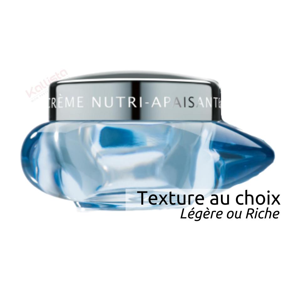 Crème Nutri Apaisante Thalgo - Relipide 24h et calme, peaux sèches, sensibles, 2 textures au choix - Cold Cream Marine