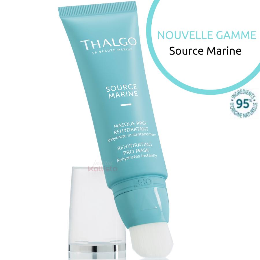 Masque Pro Réhydratant Thalgo - Source Marine - Réhydrate instantanément