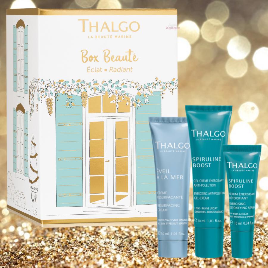 Box Rituel Beauté Éclat Visage - Lumière et Jeunesse - Thalgo - 3 produits soin