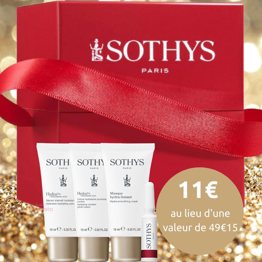 Kit Éclat de Fêtes Sothys - Sérum, Crème, Masque et Ampoules