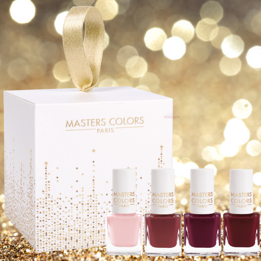 Coffret My Nail Lacquers Collection - 4 Mini Vernis à Ongles - Masters Colors