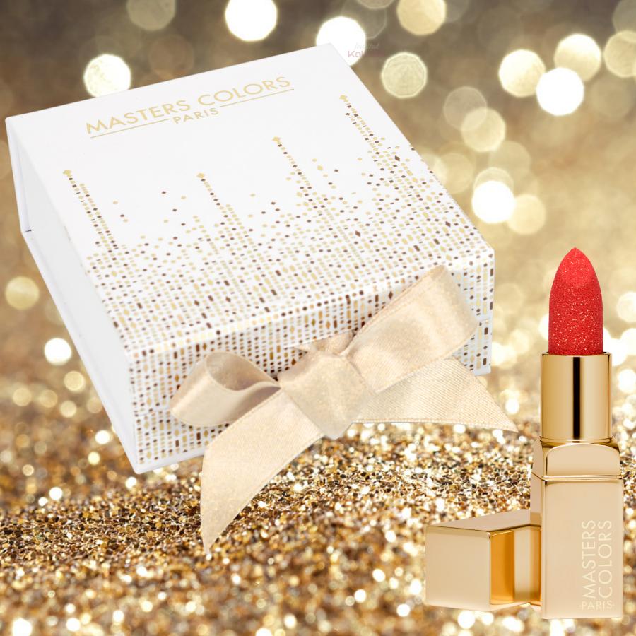 Coffret My Sparkling Lips - Rouge à Lèvres Enrobé de Paillettes - Masters Colors