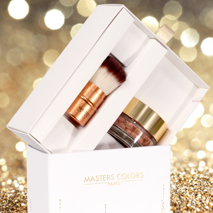Coffret My Glowing Skin - Blush Pearls et Pinceau Poudre - Masters Colors