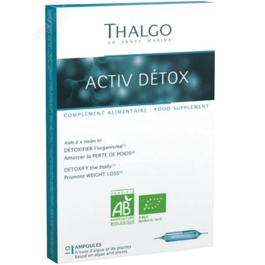 Activ Détox Thalgo : détoxifier, amorcer la perte de poids - Nutri-cosmétique