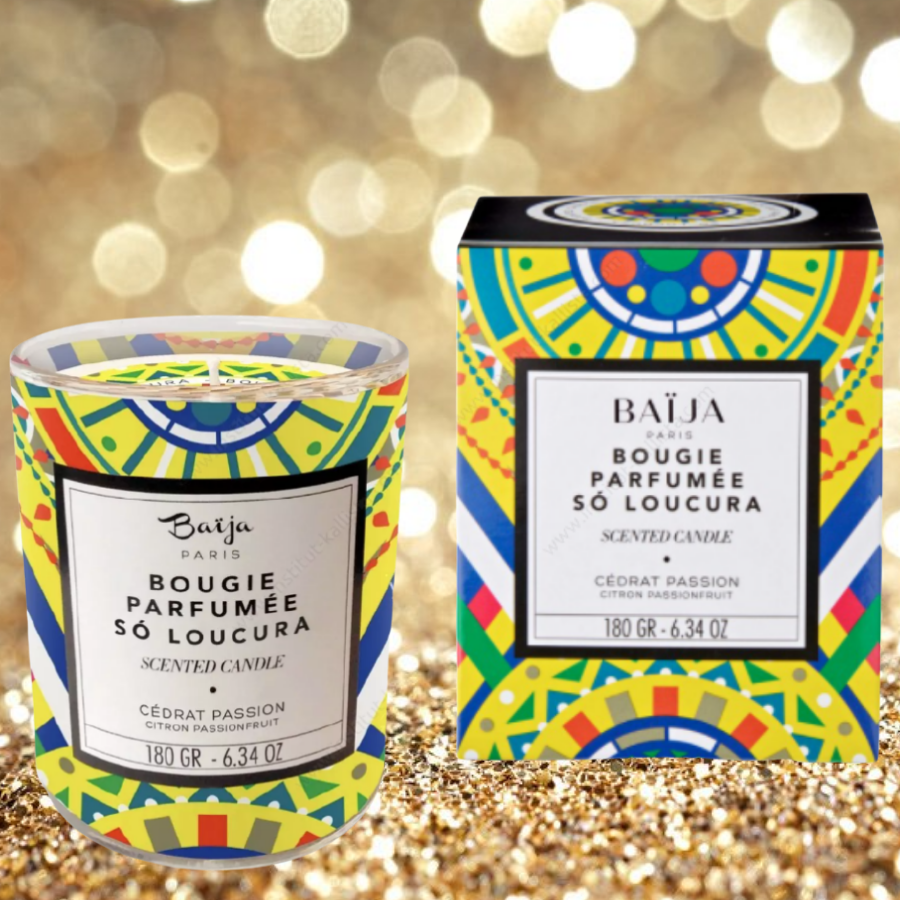 Bougie parfumée Baija - Cédrat et Passion - So Loucura