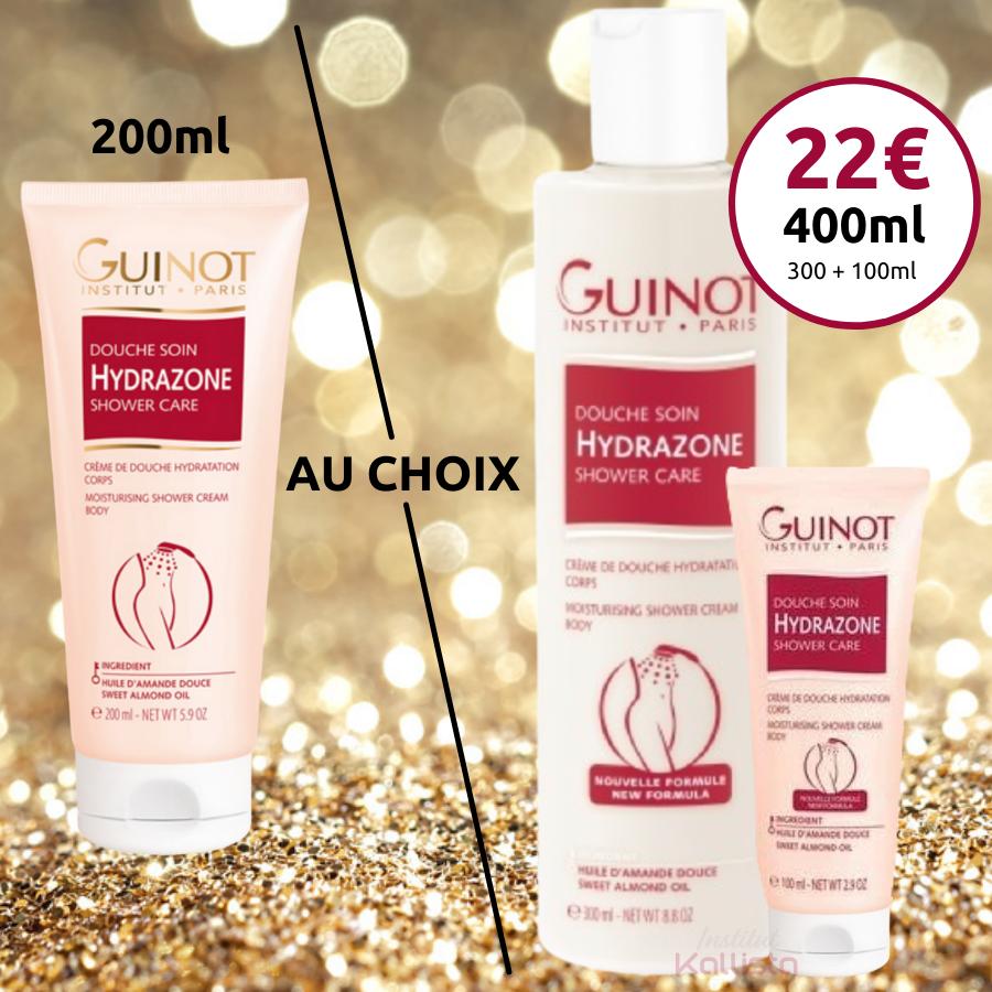 Douche Crème Hydrazone Guinot - Nettoyant doux et onctueux corps