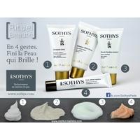 Gel moussant purifiant Sothys : Nettoyant visage peaux grasses de la marque Sothys