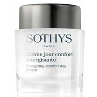 Crème jour énergisante - Confort Sothys : Crème visage peaux sèches booster d'éclat de la marque Sothys