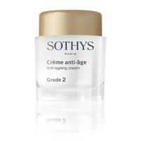 Crème anti-âge Grade 2 Sothys : Crème visage lissante et préservatrice de fermeté de la marque Sothys