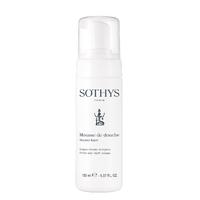Mousse de douche Sothys - Évasion Ambre et Myrrhe - Nouveauté 2017 : Mousse généreuse et aérienne pour la douche de la marque Sothys