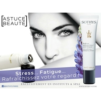 Roll-on anti-poches / anti-fatigue Sothys : Soin regard défatigant en roll-on de la marque Sothys