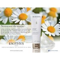Nettoyant du matin Sothys : Nettoyant toutes les peaux, même sensibles de la marque Sothys