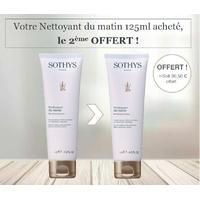 Nettoyant du matin Sothys : Crème nettoyante visage toutes peaux, même sensibles