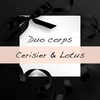 Duo de produits corps Cerisier et Lotus