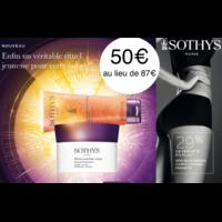 Coffret duo fermeté/lissage corps Sothys