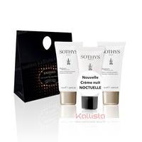 Set de 3 produits voyage VISAGE Sothys - Crème jour, Crème nuit et Sérum hydratant