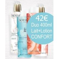 Duo démaquillant Confort Sothys 2x400ml au prix de 2x200ml