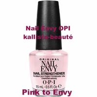 OPI Nail Envy Bubble Bath et autres teintes - Soin des ongles Coloré