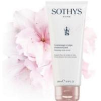 Gommage corps ressourçant Sothys - Fleur de cerisier et Lotus : Exfoliant doux aux notes fleuries et poudrées