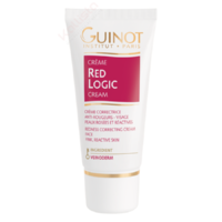 Crème Red Logic Guinot - Soin neutralisant anti-rougeurs visage