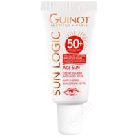 Âge Sun Yeux SPF50+ Guinot - Crème solaire anti-âge yeux - Sun Logic