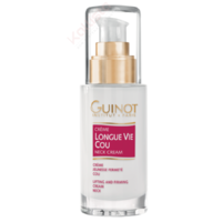 Guinot Longue Vie Cou - Crème spécifique cou, ovale, double menton