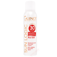 Âge Sun SPF30 Guinot - Brume solaire anti-âge corps - Sun Logic