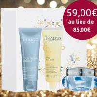 Coffret Thalgo - Peaux sèches - Cold Cream - 3 produits visage