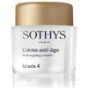Crème anti-âge Grade 4 Sothys : Crème visage anti-âge et régénérante de la marque Sothys