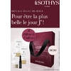 Kit Éclat de Fêtes Sothys - Gommage, Masque, Crème et Ampoule éclat