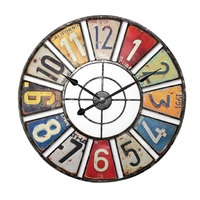 Horloge murale 60 cm Analogiques Multi