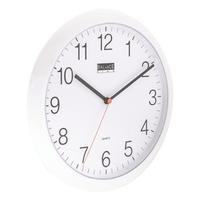 Horloge murale 25 cm Analogiques Blanc