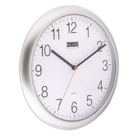 Horloge murale 25 cm Analogiques Argent