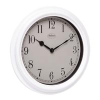 Horloge murale 35 cm Analogiques Blanc