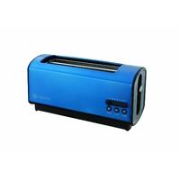 Naelia BKR-TK101-NAE Grille-Pain 2 Grandes Fente Inox Bleu Electrique 36,6 x 16,5 x 18 cm