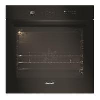 Brandt BXP6555B Intégré Electrique 73L 3385W A+ Noir four - fours (Moyenne, Intégré, Electrique, A+, Noir, toucher) [Classe énergétique A+]