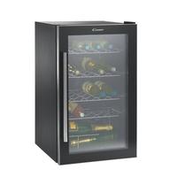 Candy CCVA 155 GL - refroidisseurs à vin (Noir, A, Noir) [Classe énergétique A]
