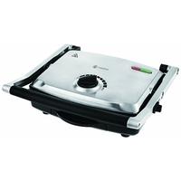 Naelia CGF-FM601-NAE Grill Electrique Multifonctions Acier Inoxydable Gris 2200 W 35 x 33 x 13 cm