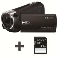 Sony HDR-CX240 Camescopes Classique 1080 pixels Zoom Optique 27 x 2.51 Mpix