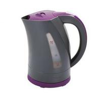 Bouilloire bicolore gris/violet 1,7 L DOMOCLIP DOM298GVI