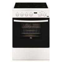 Faure FCV6530CWA cuisinière - fours et cuisinières (Autonome, Electrique, Céramique, verre-céramique, A, Blanc) [Classe énergétique A]