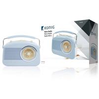 Radio FM Portable FM / AM Bleu