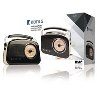 Radio Portable DAB+ FM / AM / DAB / DAB+ AUX Noir