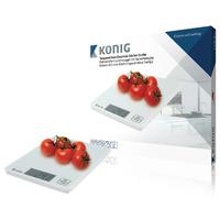 Balances de cuisine Blanc LCD