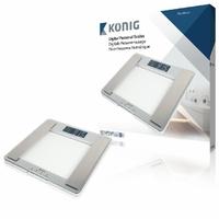Pèse personne BMI 180 kg Argent