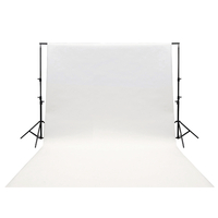 studio Backdrop 190 x 295 cm Translucide Blanc