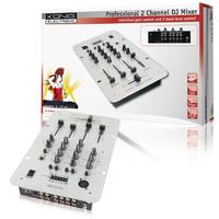 K?nig KN-DJMIXER20 Table de Mixage DJ 2 Canaux