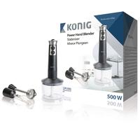 Blender plongeant 500 W 0.7 l Noir / Argent