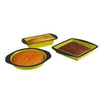 Set de 3 moules silicone contour métal Kitchen artist MEN305